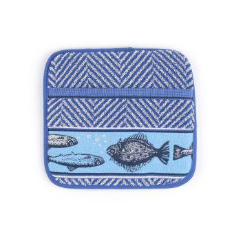 Panlap Bunzlau Castle Fish Royal Blue