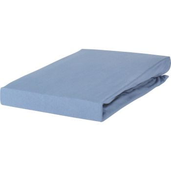 Hoeslaken Livello Jersey Stretch Pastel Blue