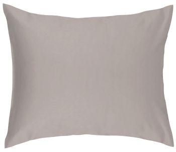 Kussensloop Soft Cotton Livello Glad katoen Stone