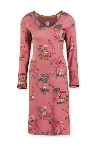 Nachthemd PiP Studio Danai Chinese Porcelain Pink Voorkant