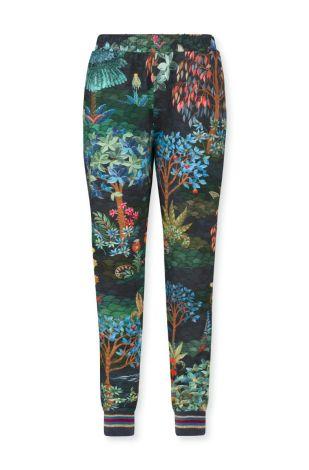 Lange broek Pip Studio Buiter Pip Garden Blue Voorkant