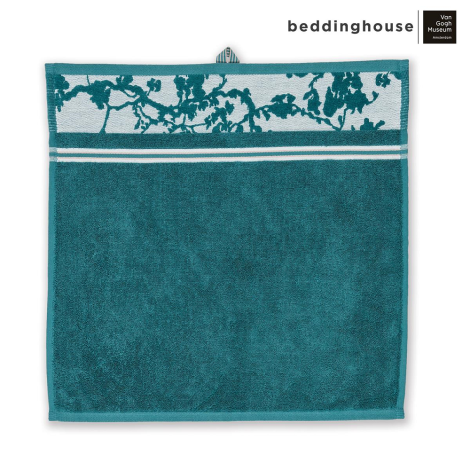 Keukendoek Beddinghouse x Van Gogh Museum Fleurir Blue Topshot