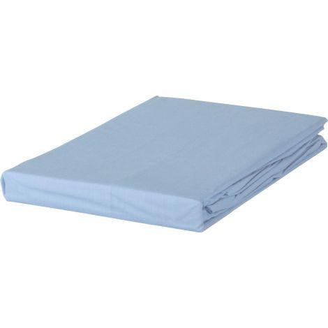 Laken Soft Cotton Livello Glad katoen Blauw