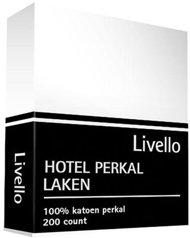 Laken Livello Hotel Perkal katoen Wit