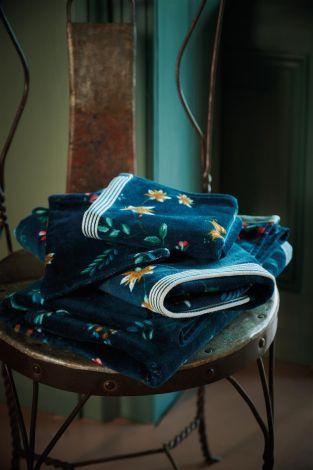 Badgoed Pip studio Les Fleurs Dark Blue Sfeer