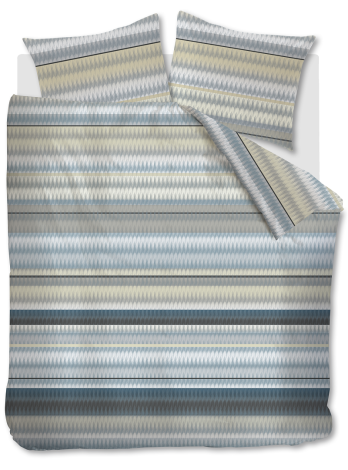 Dekbedovertrek Kardol Palenque Bleu topshot