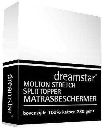 Dreamstar Splittopper Molton Dreamstar Split Topper Stretch De Luxe