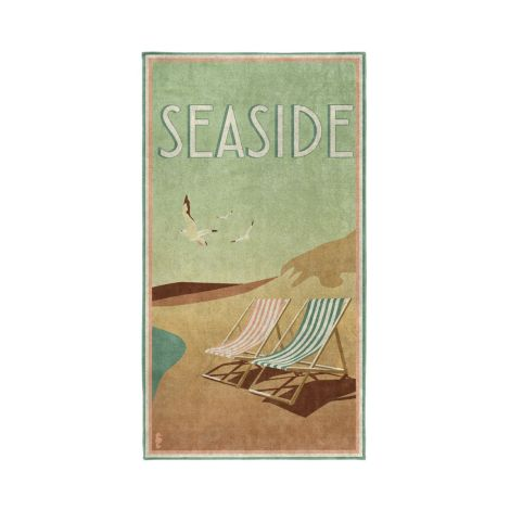 Strandlaken Seahorse Blackpool Green
