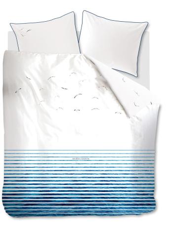 Dekbedovertrek Riviera Maison Seagull Bleu topshot